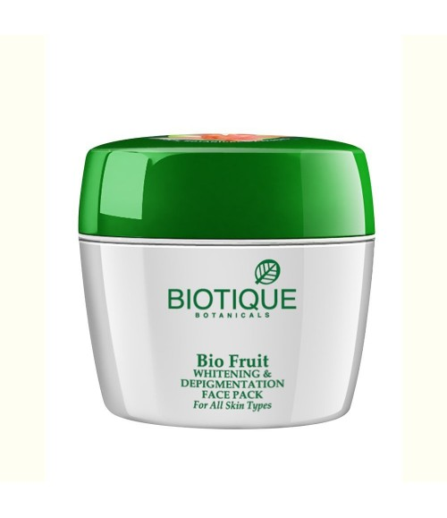 Biotique Bio Fruit Whitening And Depigmentation Face Pack for All Skin Types, 75g