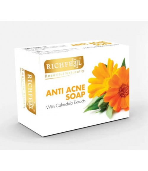 Richfeel Anti Acne Soap with Calendula Extracts(75 g)