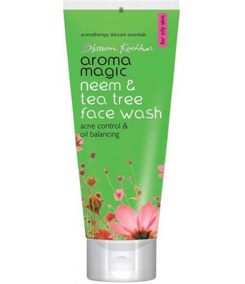Aroma Magic Neem & Tea Tree Face Wash Wash