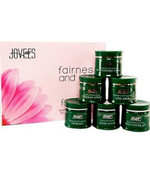 Jovees Herbal Fairness And Glow Facial Kit Large