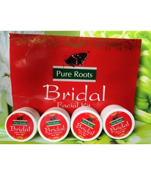 Pure Roots Bridal  Facial Kit