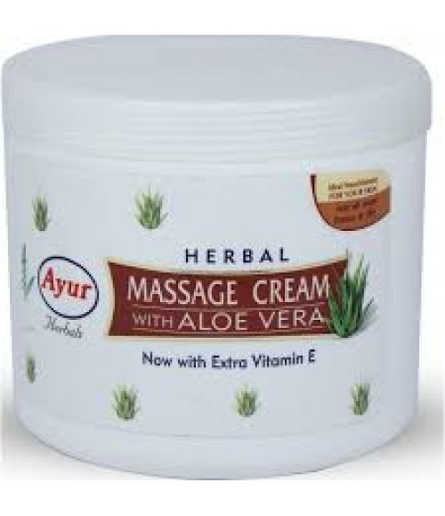 Ayur Herbal Massage Cream With Aloevera 200gm