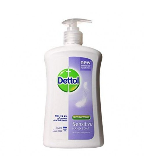 Dettoll Hand Wash Pump Sensitive 225Ml