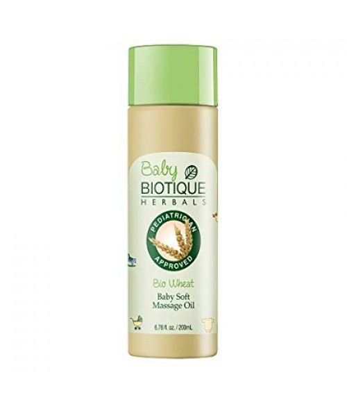 Biotique Bio Wheat Baby Soft Massage Oil - 200 ml