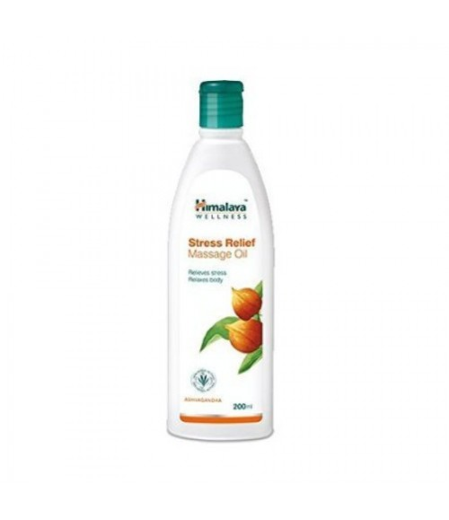 Himalaya WELLNESS Herbals Stress Relief Massage Oil