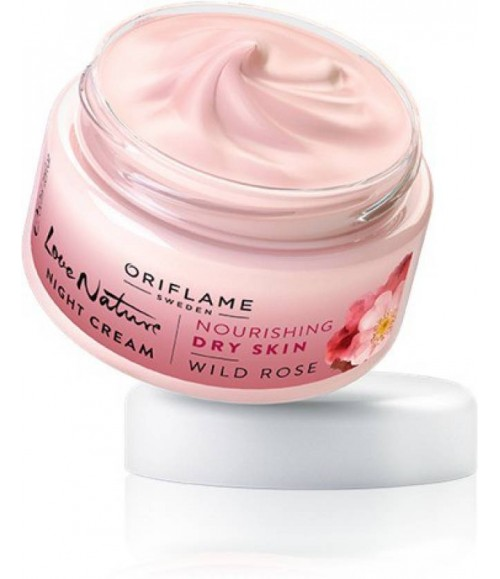 Oriflame Love Nature Day Cream Wild Rose