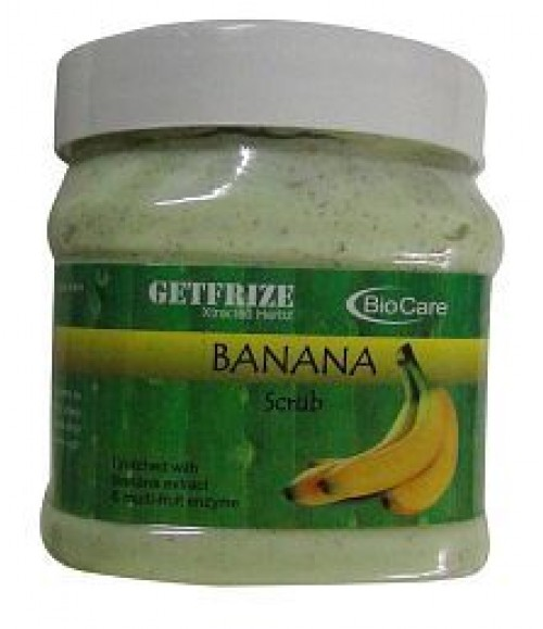 Biocare Getfrize Banana Scrub Enriched With Banana Extract
