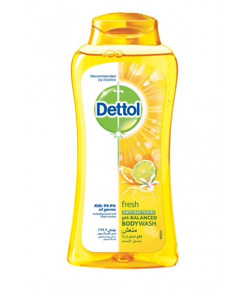 Dettol Fresh Body Wash, 250ml