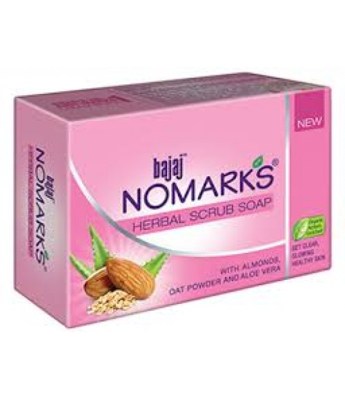 Bajaj Nomarks Herbal Scrub Soap, 125g