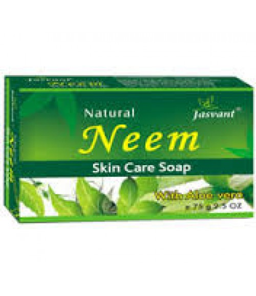 JASVANT NATURAL NEEM- ALOE VERA SKIN CARE SOAP