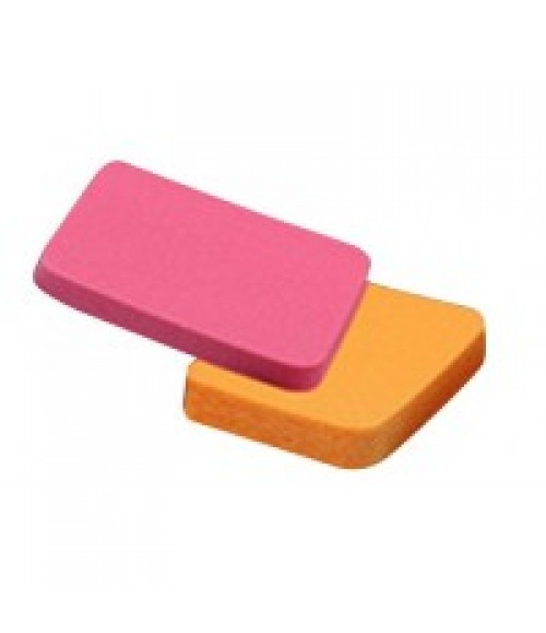 Colorbar Peppy Duo Foundation Sponges (2 Piece)