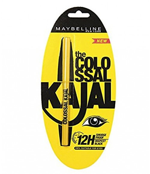 Maybelline Colossal Kajal, Black, 0.35g