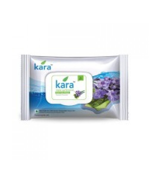 Kara Make-Up Removal Wipes With Seaweed And Lavender (10 Wipes)